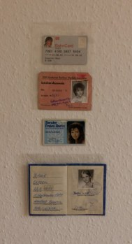 Ausschnitt aus der Installation Künstlerischer Umgang mit Erinnerung (c) Doreen Trittel und Susanne Haun