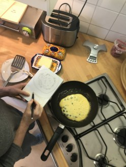 Blueberry Pancakes zeichnen (c) Foto von M.Fanke
