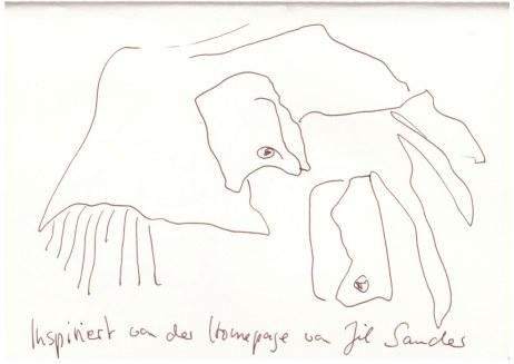 Kraft der Reduktion (c) Zeichnung von Susanne Haun