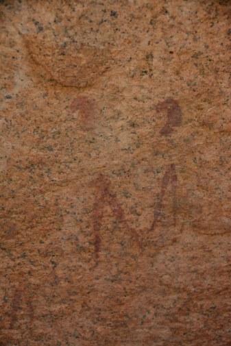 Felszeichnungen um Spitzkoppe (c) Foto von M.Fanke