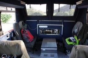 Im Truck (c) Foto von Susanne Haun