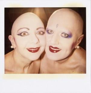 EVA & ADELE, AUTOPOLAROID, 28.08.1992, Berlin, Polaroid, 10,2 x 10,1 cm © EVA & ADELE und VG Bild-Kunst, Bonn 2018