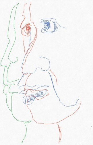 Portrait Nr. 19 (c) Zeichnung iPad von Susanne Haun