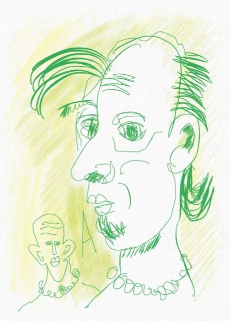 Portrait Nr. 20 (c) Zeichnung iPad von Susanne HaunPortrait Nr. 20 (c) Zeichnung iPad von Susanne Haun