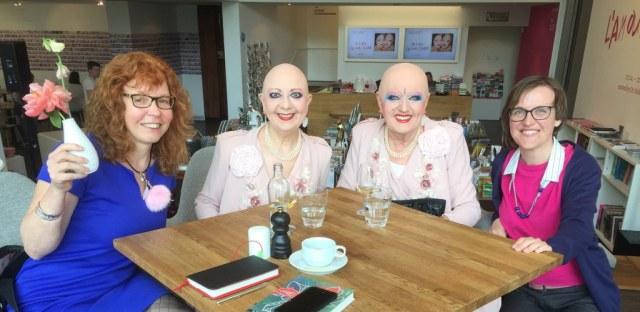 Susanne Haun, Eva und Adele, Doreen Trittel im me Collectors Room Berlin, Foto von Tina Volk
