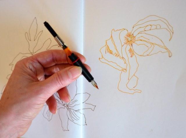 Zeichnen mit SketchInk von Rohrer und Klingner (c) Foto von M.Fanke