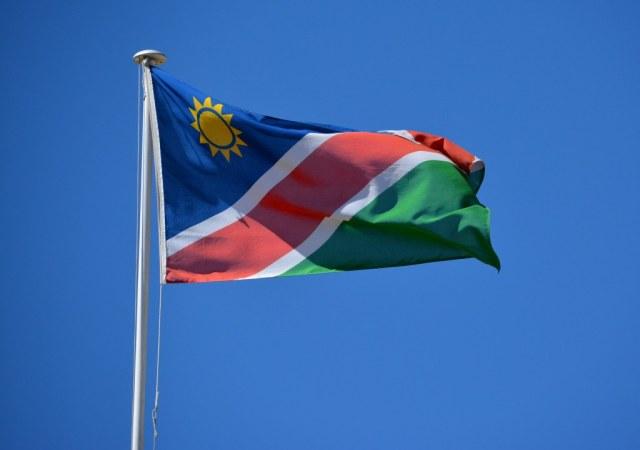 Flagge von Namibia (c) Foto von M.Fanke