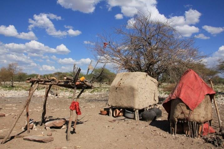 Im Himba Dorf (c) Foto von Susanne Haun