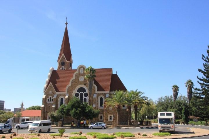 Kirche von Windhoek (c) Foto von Susanne Haun