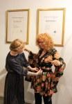 Susanne Haun im Atelier nuno (c) Foto von M.Fanke