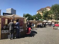 Weddingmarkt in Berlin auf dem Leopoldplatz (c) Foto von Susanne Haun
