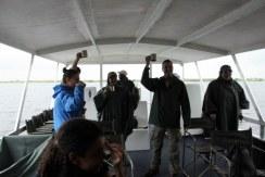 Vom Boot aus sollen wir die Hippos und Vogelwelt betrachten können (c) Foto von Susanne Haun