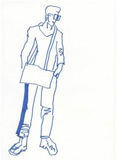 Entwürfe zum Plakat Standortgemeinschaft (c) Zeichnung von Susanne Haun