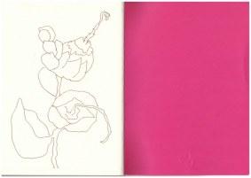 Auf dem Balkon - Löwenmäulchen(c) Zeichnung von Susanne Haun