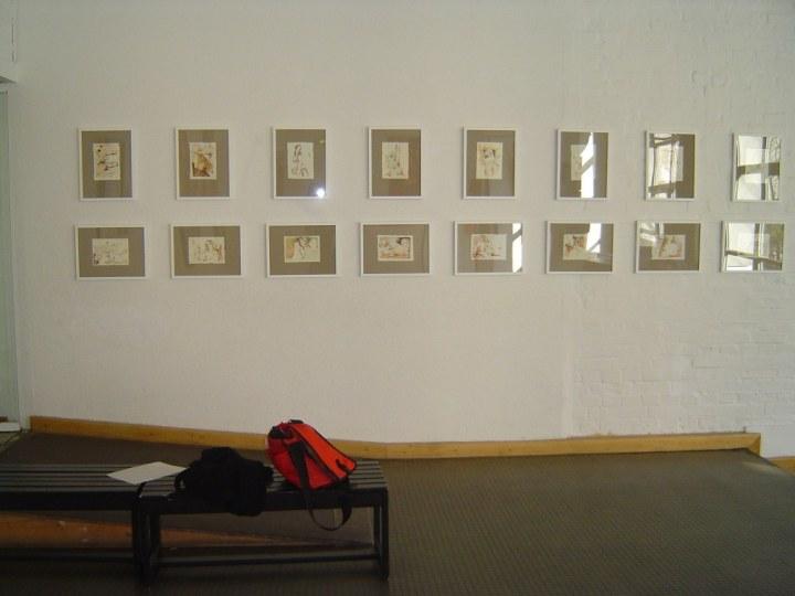 Ausstellung im Kulturhaus Spandau 2005 (c) Foto von Susanne Haun