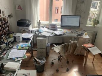 Beim Master schreiben (c) Foto von Susanne Haun