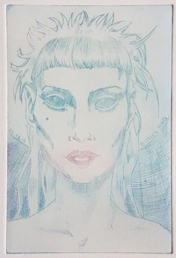 Portrait (c) Radierung von Meike Lander (3)