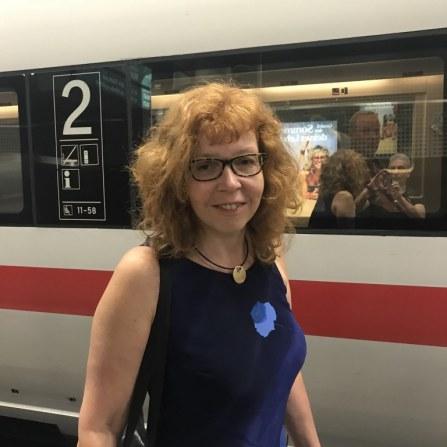 Anfahrt von Berlin nach Boesner Leipzig - Workshop Susanne Haun (c) Foto von M.Fanke