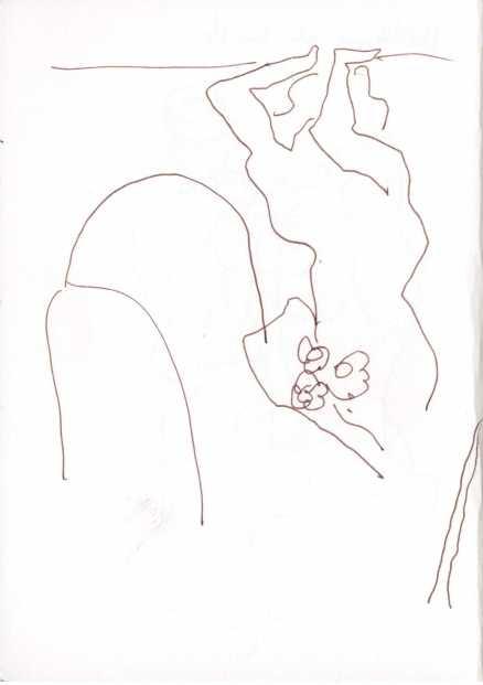 Skizzenbuch 28.7. - 26.8.18 (c) Zeichnung von Susanne Haun