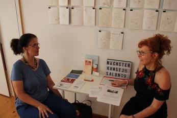 Impressionen vom KunstSalon bei Susanne Haun - Gast Anke Boche-Koos (c) Foto von Susanne Haun
