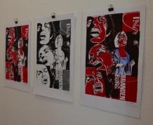 KunstSalon bei Susanne Haun , die die Arbeiten von Utz Benkel (c) Foto von M.Fanke