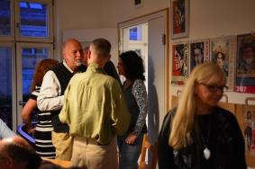 9 Impressionen vom KunstSalon bei Susanne Haun mit Utz Benkel und Rosie Geisler (c) Foto von M.Fanke