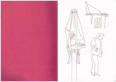 Sonntagsspaziergang - Zeichnung Susanne Haun (c) VG Bild Kunst, Bonn 2018