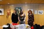 Schiller Bibliothek, Ausstellung Querbrüche Obdachlos, Susanne Haun Meike Lander Gabriele D.R. Guenther © Foto von M.Fanke