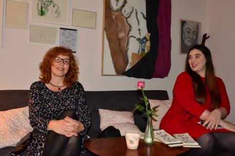 Café Motte, Querbrüche Obdachlos, Susanne Haun und Meike Lander © Foto von M.Fanke