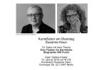Einladung Salon Susanne Haun - Gast Sabine Küster