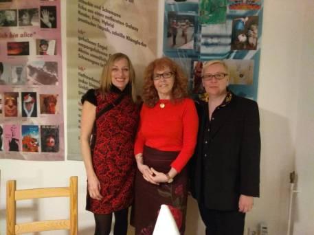 19. KunstSalon - Krystiane Vajda, Susanne Haun und Sabine Küster