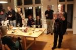 Aus der Performance Schickal, 19. Kunstsalon, Sabine Küster und Krystiane Vajda, Foto von Susanne Haun (c) VG Bild-KunsAus der Performance Schickal, 19. Kunstsalon, Sabine Küster und Krystiane Vajda, Foto von Susanne Haun (c) VG Bild-Kunst, Bonn 2019