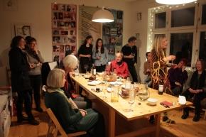 19. Kunstsalon, Sabine Küster und Krystiane Vajda, Foto von Susanne Haun (c) VG Bild-Kunst, Bonn 2019