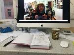 Die Webcam als Spiegel, Foto von Susanne Haun (c) VG Bild-Kunst, Bonn 2019