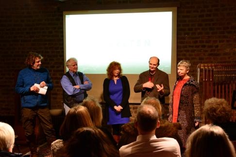 Salon Eiswelten in Schloss Türnich - Susanne Haun, Gerhard Kern, Martin Haeusler, Roswitha Mecke (c) Foto von M.Fanke