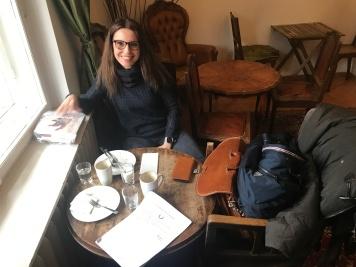 Abschied von der Pausenkultur mit Cristina Wiedebusch (c) Foto Susanne Haun