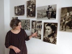 Fotos geben der Sprachschule Puntolingua italienisches Flair, Foto von Susanne Haun