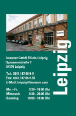 Adresse boesner in Leipzig