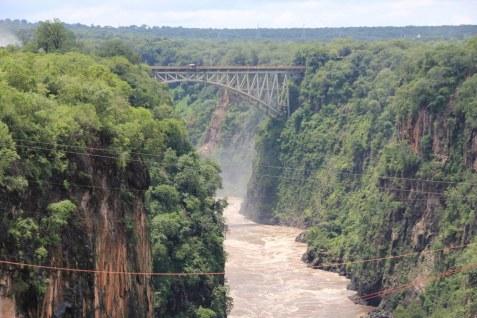 Victoria Falls, Simbabwe, Februar 2018 (c) Foto von Susanne Haun
