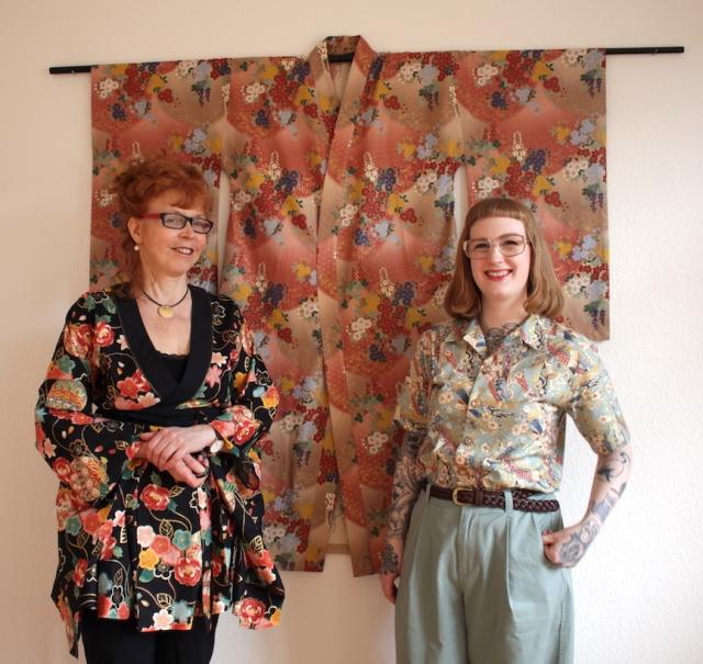 Kunstsalon im Atelier Susanne Haun - Gast Marie Schmunkamp vom Atelier Nuno (c) VG Bild Kunst, Bonn 2019