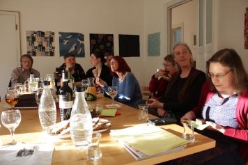 Impressionen vom Kunstsalon im Atelier Susanne Haun - Gast Marie vom Atelier Nuno (c) VG Bild Kunst, Bonn 2019