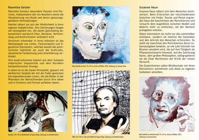 Seite 2 Flyer - Schau Mich An - Roswitha Geisler und Susanne Haun
