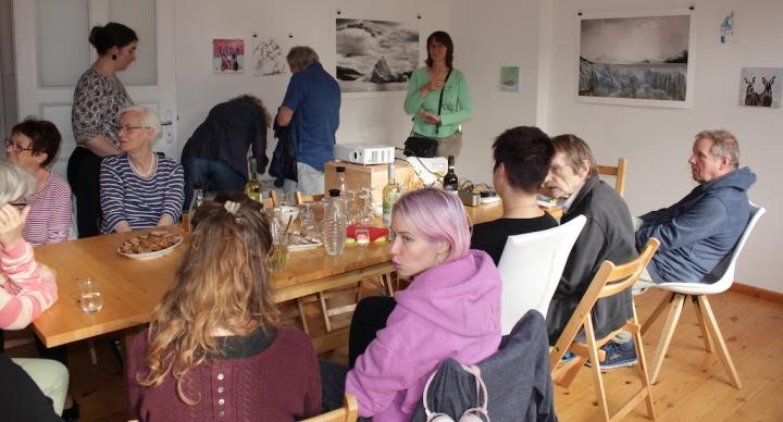 Impressionen vom 21. KunstSalon Eiswelten, Foto von Susanne Haun (c) VG Bild-Kunst, Bonn 2019