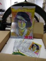 Die Wilde 13, Kalender Musikerinnen und Musiker 2020 im Utz Benkel Verlag