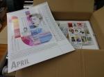 Karajan, Zeichnung von Susanne Haun, Die Wilde 13, Kalender Musikerinnen und Musiker 2020 im Utz Benkel Verlag