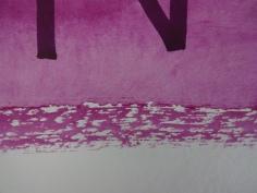 Entstehung Nein, 40 x 40 cm, Tusche auf Aquarellkarton, Zeichnung von Susanne Haun (c) VG Bild-Kunst, Bonn 2019