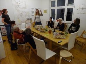 Impressionen vom 22. Kunstsalon, Gast Beate Gernhuber, Thema Naturschutz in Afrika (c) Foto Susanne Haun