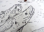 Ausschnitt aus der Trauminsel (c) Zeichnung von Susanne Haun