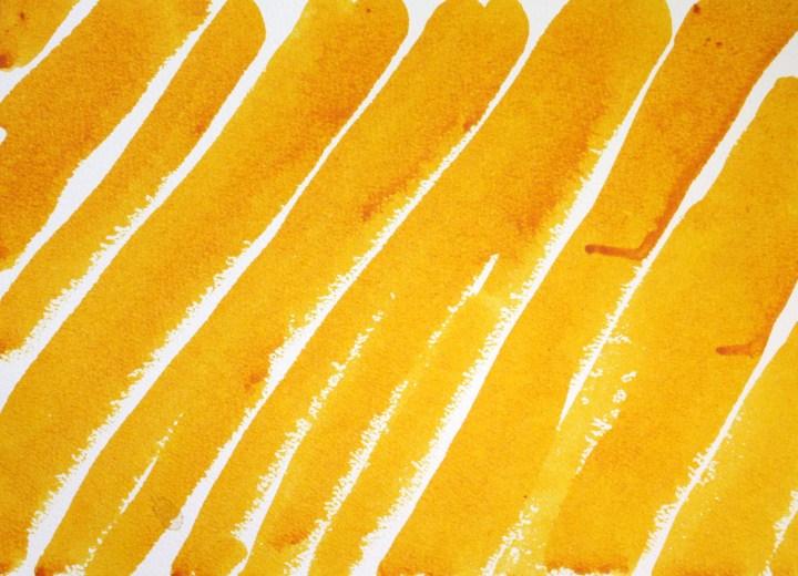 Gelb - Yellow, Zeichnung von Susanne Haun (c) VG Bild-Kunst, Bonn 2020