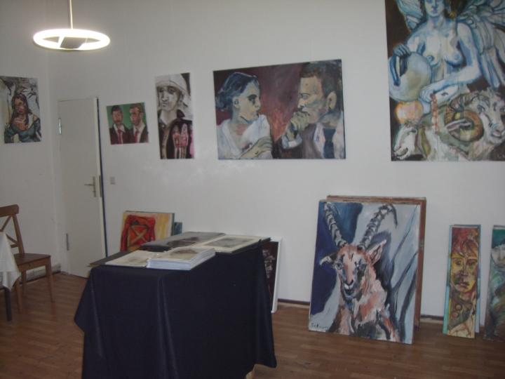 Ausstellungsansicht Galerie K-02, Berlin Wedding, 2007 (c) Foto von Susanne Haun